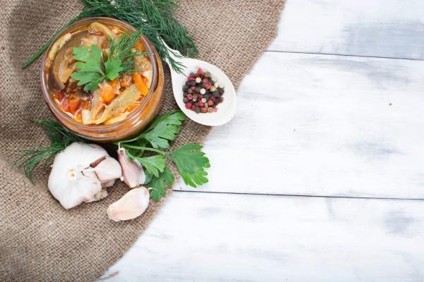 Маринованные баклажаны, как ингредиент итальянской антипасто