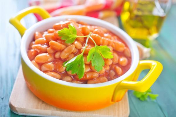 Рецепт                  Великий пост 2015: Фасоль в томатном соусе