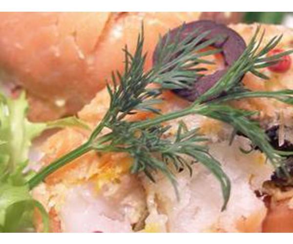 Рецепт                  Терин из красной и белой рыбы