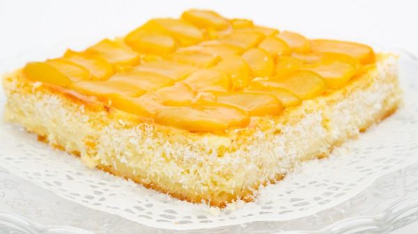 Рецепт                  Творожная запеканка с персиками