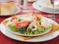 Легкий салатик с крабовым мясом
