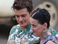 Орландо Блум и Кэти Перри вместе отдохнули на Гавайях