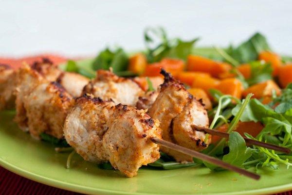 Рецепт                  Куриные шашлычки в имбирном маринаде