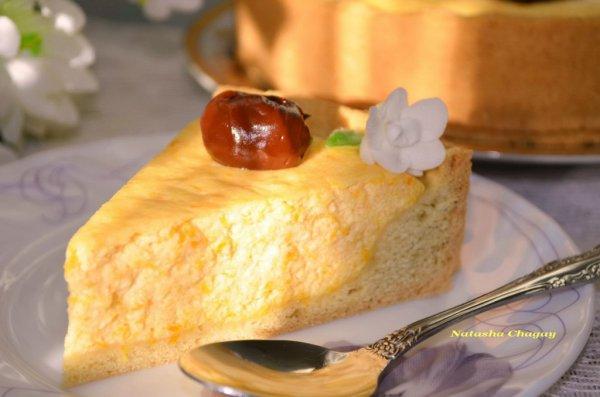 Рецепт                  Пирог с творожно-тыквенной начинкой