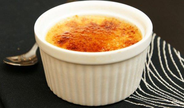 Рецепт                  Крем-брюле с вареным сгущенным молоком