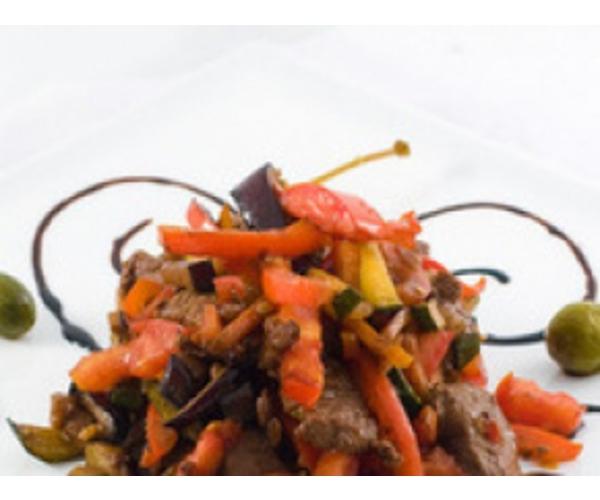 Рецепт                  Салат по-восточному