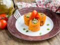 Масленица 2017: томатные блинчики с начинкой