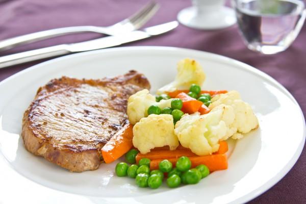 Рецепт                  Свиной стейк в кисло-сладком соусе