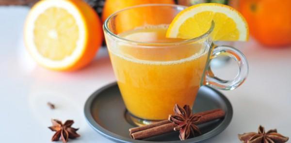 Горячий апельсиновый напиток