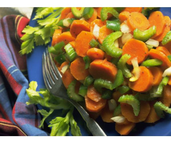 Рецепт                  Овощи на пару