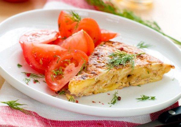 Рецепт                  Мадридский картофельный омлет