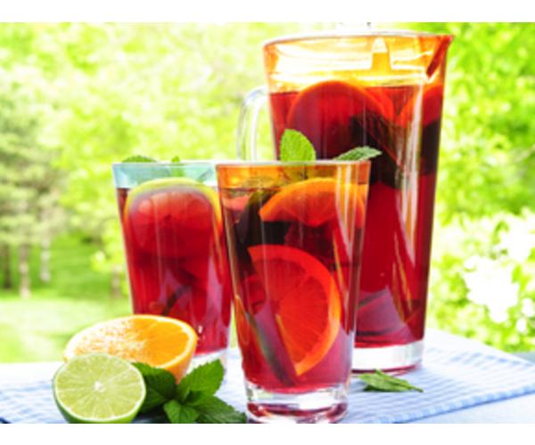 Рецепт                  Фруктовый напиток с лимоном и мятой