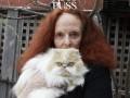 75-летняя Грейс Коддингтон предстала на обложке PUSS PUSS