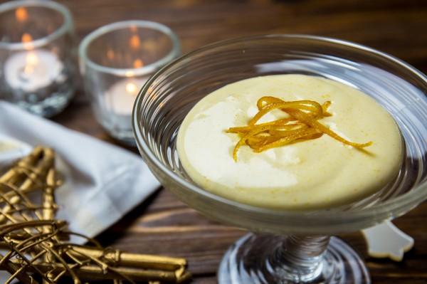 Сабайон с шампанским и цедрой апельсина: Рецепт от Евгения Клопотенко