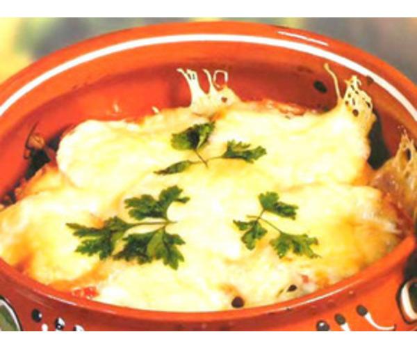 Рецепт                  Картофель с грибами в горшочках