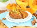 Как приготовить тыквенный кекс с медовой глазурью
