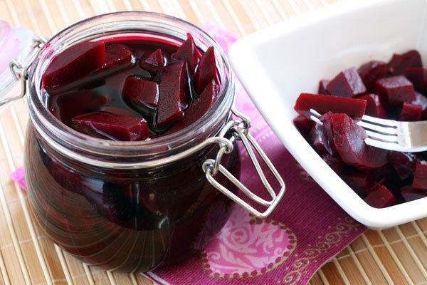 Рецепт                  Маринованная свекла
