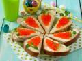 Рецепт на Пасху: канапе в виде морковок