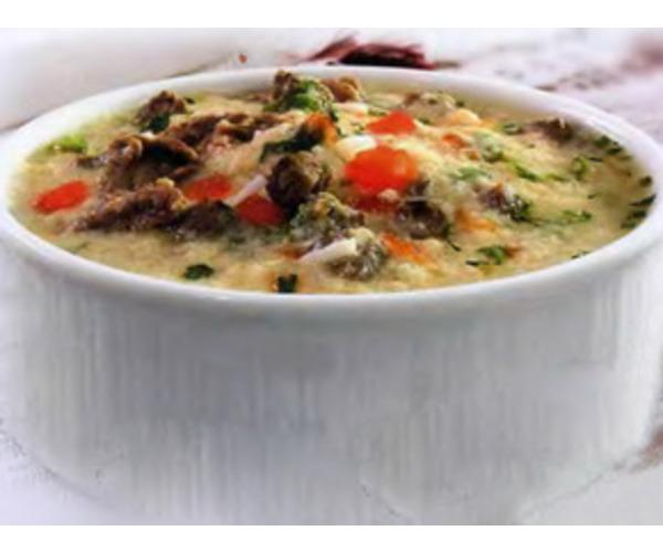 Рецепт                  Чорба с телятиной и шампиньонами
