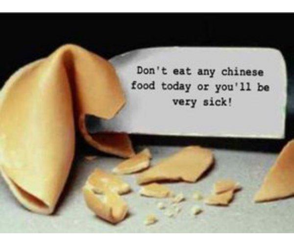 Рецепт                  Китайское печенье с предсказаниями