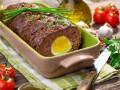 Пасхальные рецепты: мясной хлебец с вареными яйцами