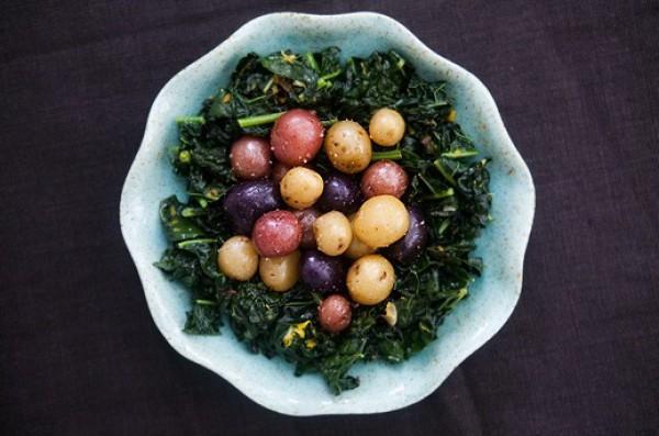 Рецепт                  Пасхальные рецепты: Картофельный салат