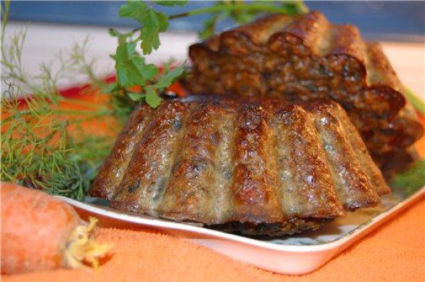 Рецепт                  Острые печеночные кексы