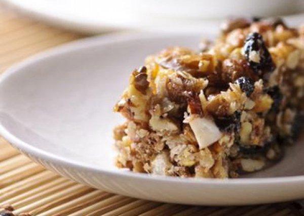 Рецепт                  Гранола с орехами и сухофруктами