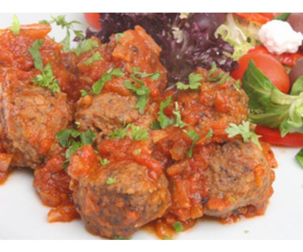 Рецепт                  Тефтели в томатном соусе с мятой