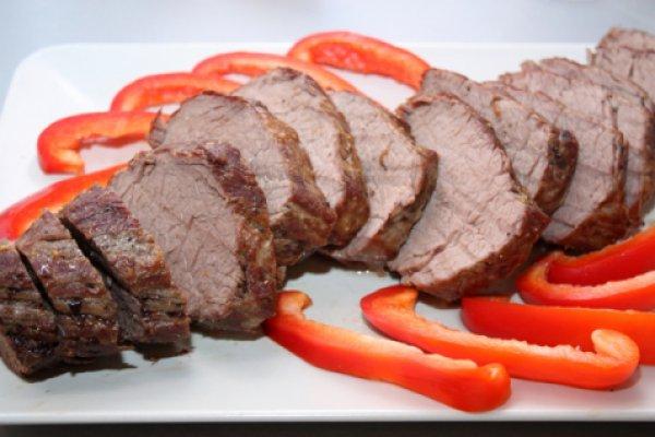 Рецепт                  Запеченная говядина