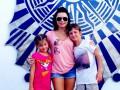 Лилия Подкопаева развлекается с детьми в Америке
