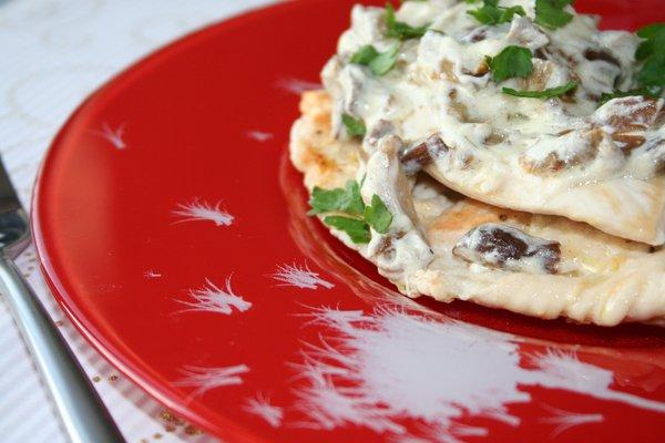 Рецепт                  Куриные отбивные с грибным соусом