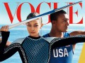 Джиджи Хадид украсила фотосет для Vogue, посвященный Олимпийским играм