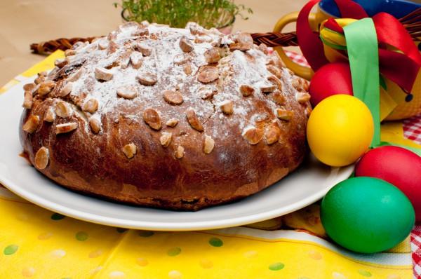 Рецепт                  Чешский пасхальный кулич