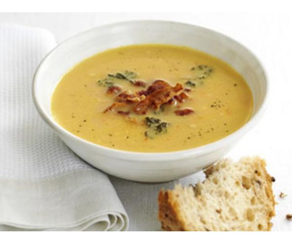 Рецепт                  Фасолевый суп с беконом