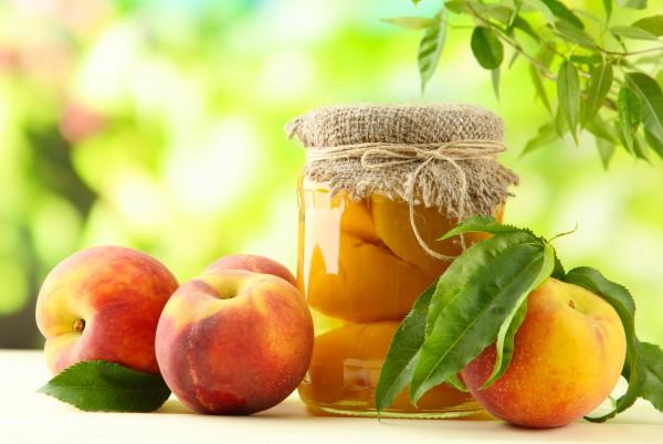 Рецепт                  Консервированные персики