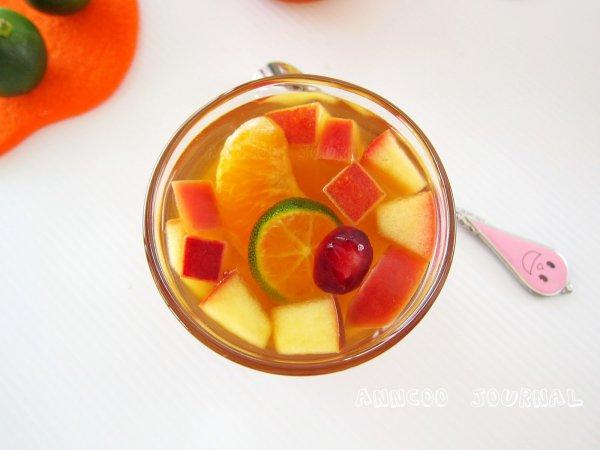 Рецепт                  Холодный фруктовый чай