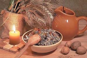 На Святой вечер традиционно готовят кутью