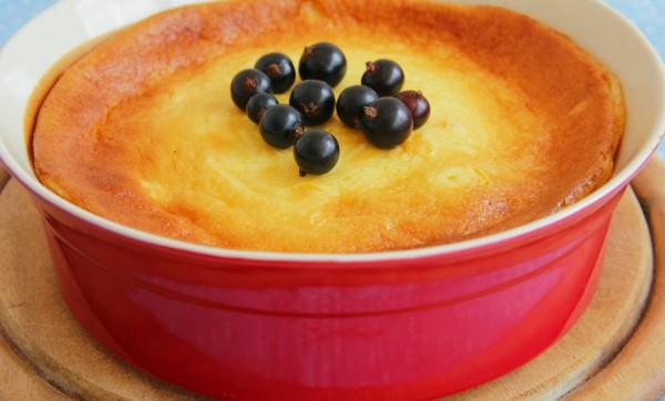 Рецепт                  Сметанная запеканка с ванилью