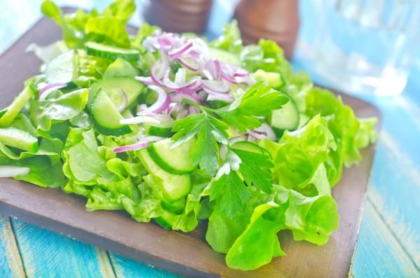 Рецепт                  Великий пост 2015: Зеленый салат
