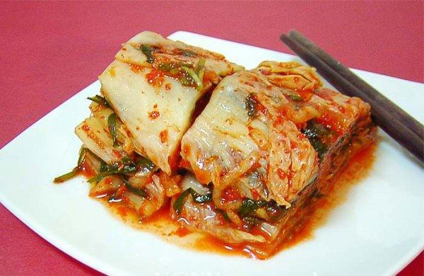 Рецепт                  Кимчи: острая корейская капуста