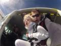 Мика Ньютон прыгнула с высоты в шесть тысяч метров