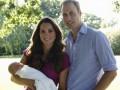 Кейт Миддлтон и принц Уильям показали официальные фото сына