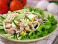 Салат из кальмаров к 8 марта