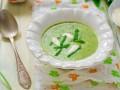 Картофельный суп с черемшой