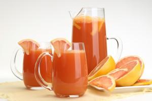 Грейпфрутовый фреш с имбирем и лимоном