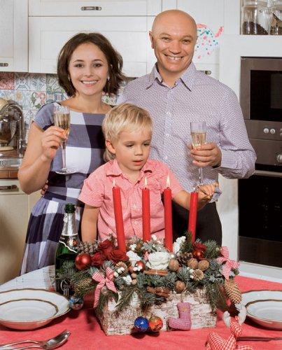 Даша Малахова с любимой семьей