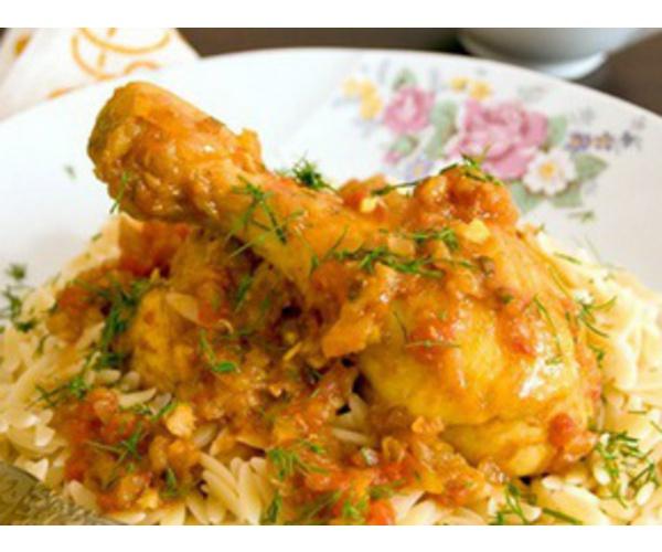 Рецепт                  Кисло-сладкая курица в луковом соусе