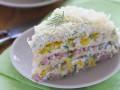 Кабачковый торт с творожной начинкой