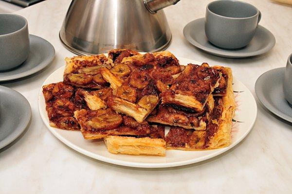 Рецепт                  Банановый пирог